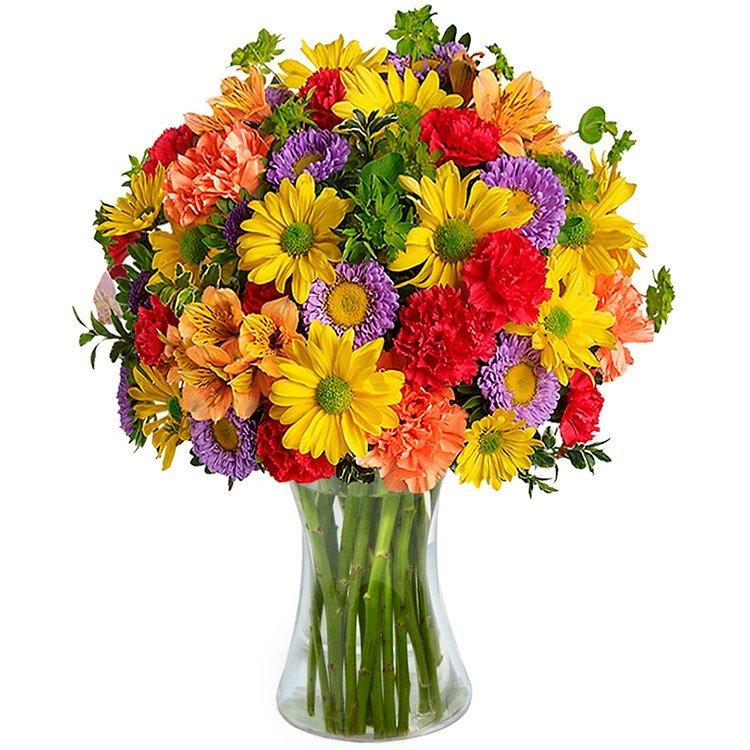 Luxuoso Mix de Flores Silvestres