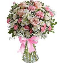 Luxuoso Mix de Flores Delicadas