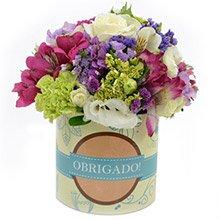 Mix de Flores Obrigado