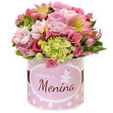 Mix de Flores Chegou a Menina