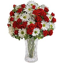 Encantador Mix de Rosas & Margaridas Premium