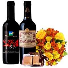 Rosas, Vinhos & Chocolate