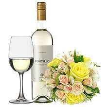 Mix de Flores Amarelas & Portillo Sauvignon 375 ml