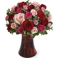 Poesia Mix de Rosas Coloridas Luxo