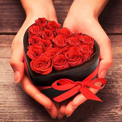 Mini Coração do Cupido Red