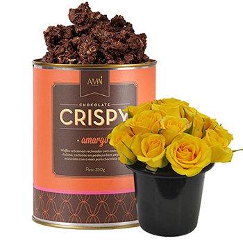 Mini Rosas & Crispy Amargo