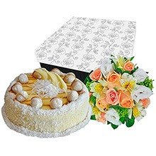 Mix De Flores & Bolo Branco