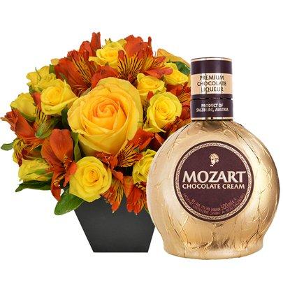 O Segredo da Flor Orange & Licor Mozart