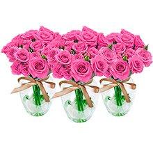 Trio Contagiar de Rosas Lilás