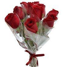 10 Rosas Vermelhas Avulsas Em Celofane