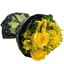 Buquê Suavidade de Flores Amarelas