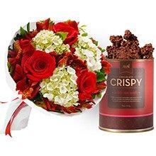 Buquê Carinho de Rosas Red & Crispy