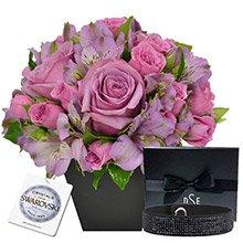 O Segredo da Flor Lilás & Bracelete Black