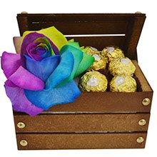Rosa Multicolor & Bombons Ferrero Rocher
