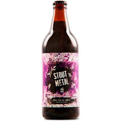 Cerveja Mr. Beer Stout Metal 600ML