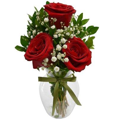 Charme de Rosas Vermelhas