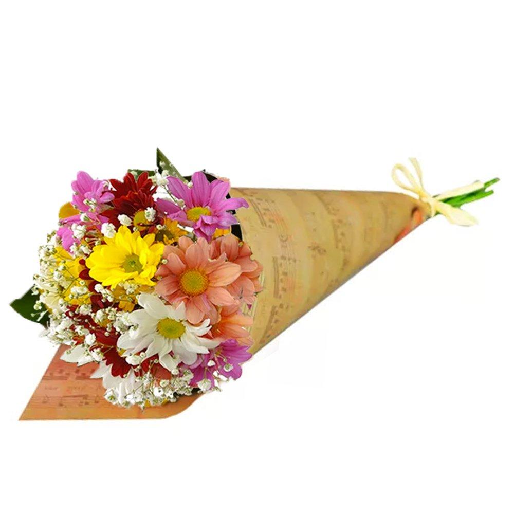 Buquê Partitura Flores do Campo