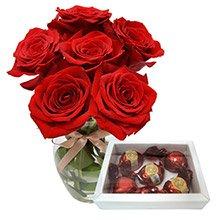 Rosas Vermelhas & Trufas Artesanais