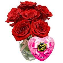 Rosas Vermelhas & Bombons