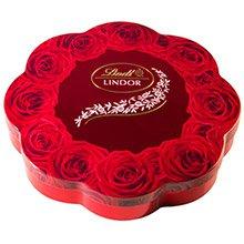 Chocolate Lindt Lindor Milk Rose 175 GR