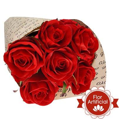 Te Adoro Com Rosas Artificiais