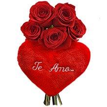 Rosas & Coração Te Amo