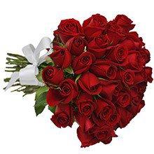 Buquê de 30 Rosas Vermelhas