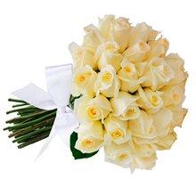 Buquê de Rosas Brancas