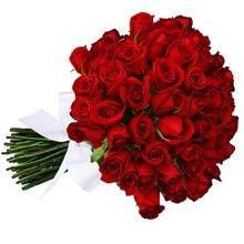 Buquê de 42 Rosas Vermelhas