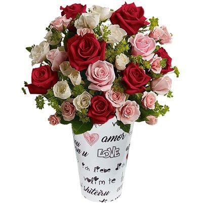 Precioso Mix de Rosas