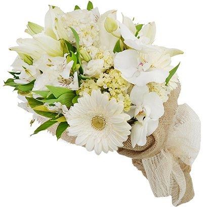Mega Buquê Rústico Mix de Flores