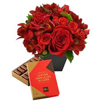 Segredo da Flor Red & Gouter ao Leite