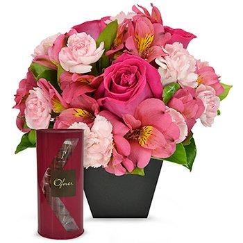 Segredo da Flor Pink & Gran Tube Palmier