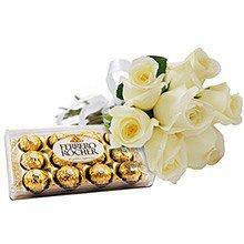 Rosas Brancas & Ferrero Rocher
