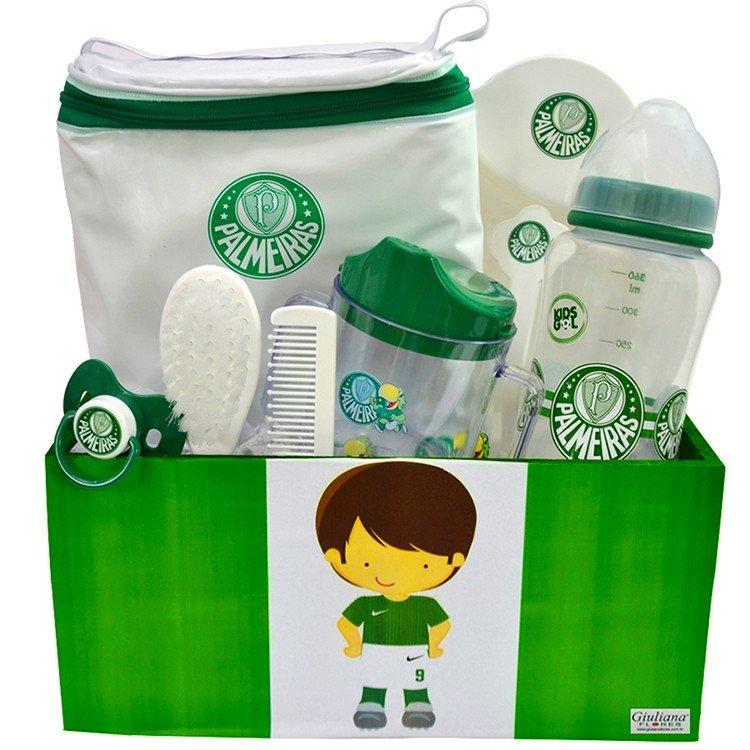 Kit Bebê Torcedor Palmeiras