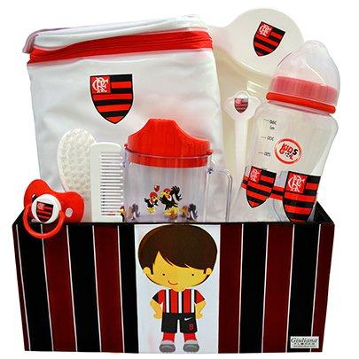 Kit Bebê Torcedor Flamengo