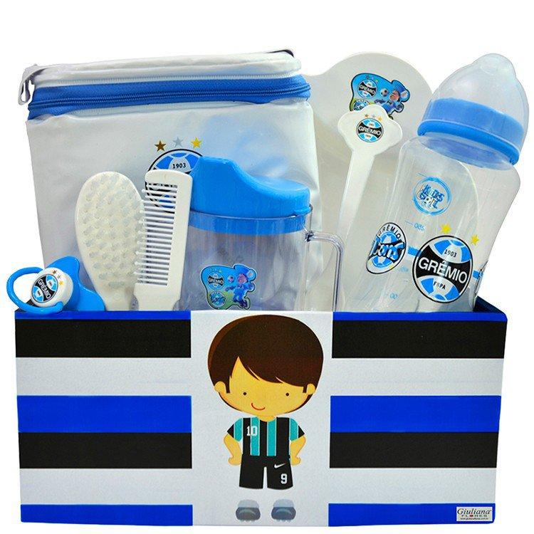 Kit Bebê Torcedor Grêmio
