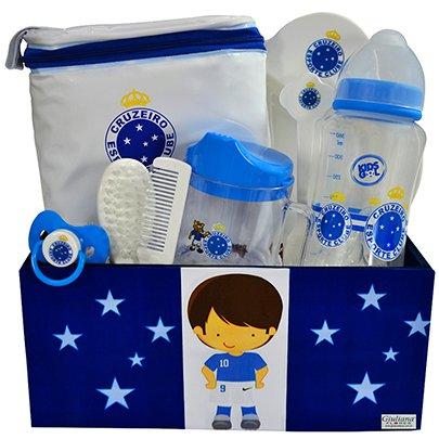 Kit Bebê Torcedor Cruzeiro