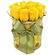 Encantadoras Rosas Amarelas