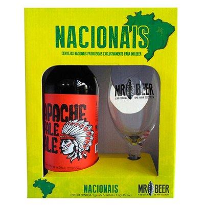 Kit Cervejas Nacionais Apache 600ml