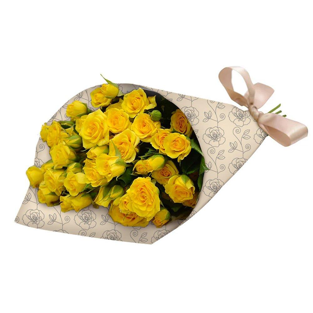 Buquê Partitura Premium Amarelo