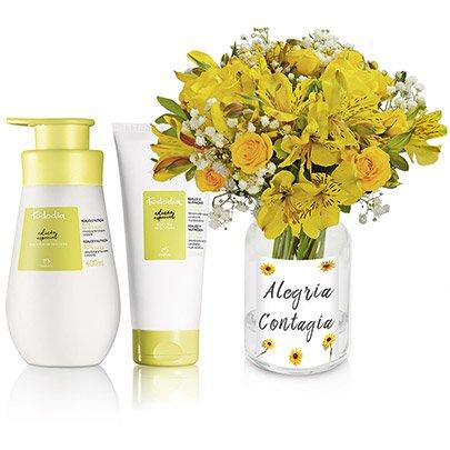 Natura Tododia Flor de Laranjeira & Poesia Yellow
