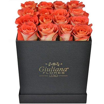 Sublime Premium de Rosas Laranja Black