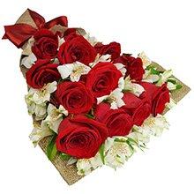 Buquê de Rosas Clássico Amor Red!