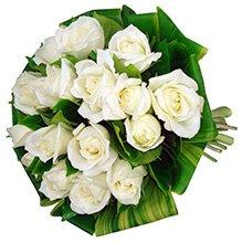 Buquê Simpatia de Rosas White