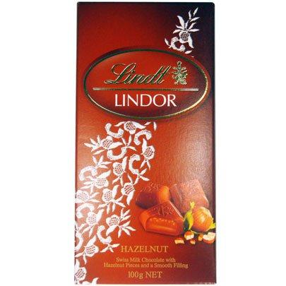 Chocolate Lindor Hazelnut 100g