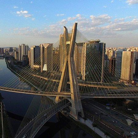 Foto da Ponte Estaiada