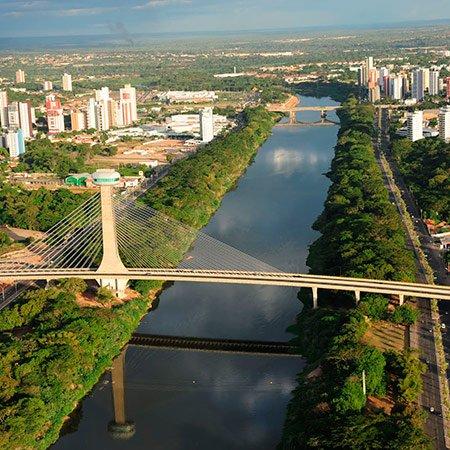 Foto da Mirante da Ponte Estaiada