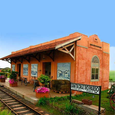 Foto da Antiga Estação