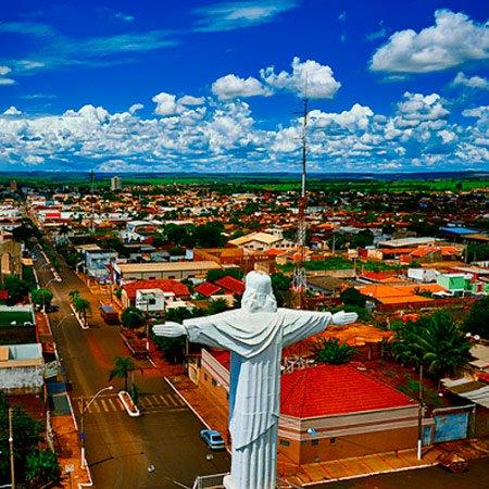 Foto do Cristo Redentor de Itaverava